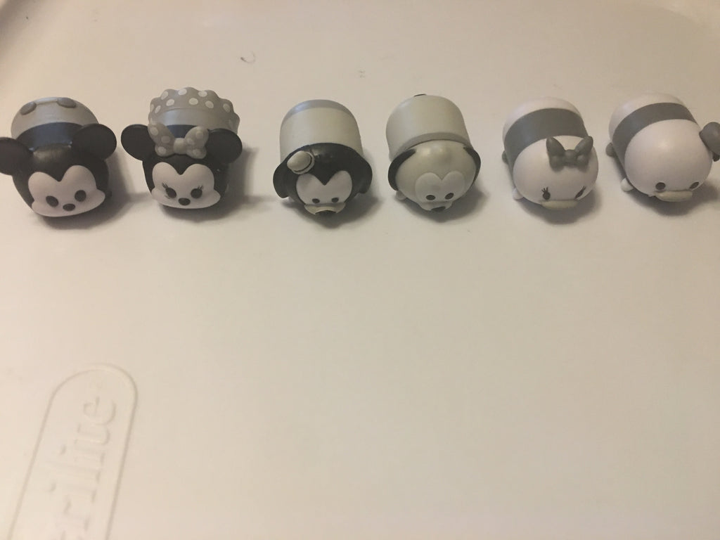 Rare Tsum Tsums - Gold and Black and White