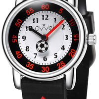 Watches for kids - Soccer (black)