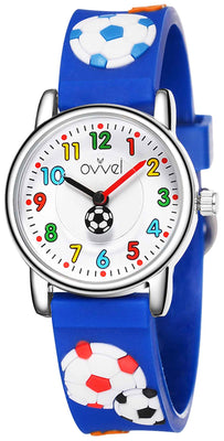 Watches for kids - Soccer (blue)