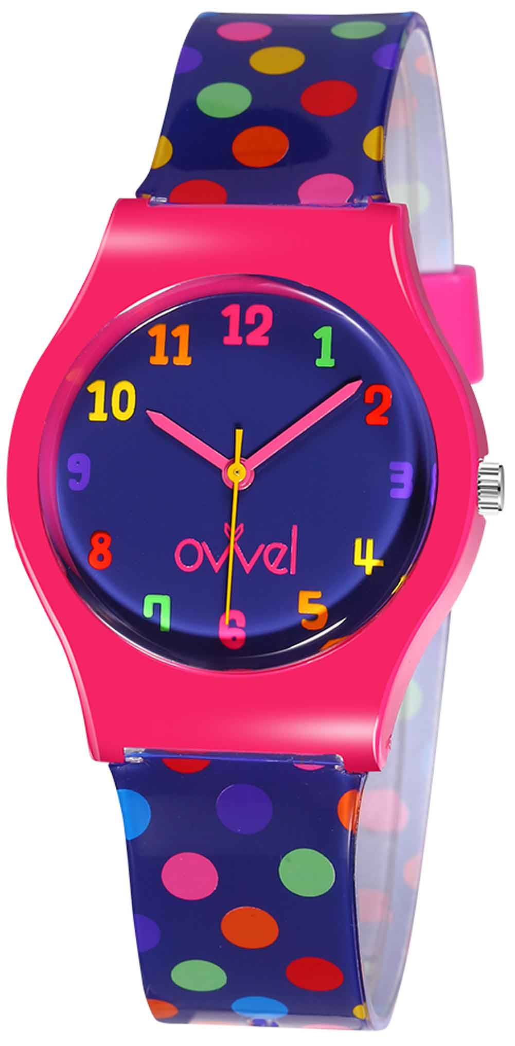 Watches for kids - Colorful Polka Dot