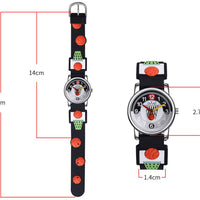 Watches for kids - Basketball dimensions
