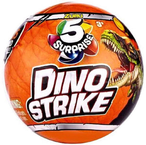 5 Surprise Dino Strike Mystery Pack - one ball
