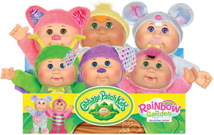Cabbage Patch Kids Rainbow Garden party complete set of 6