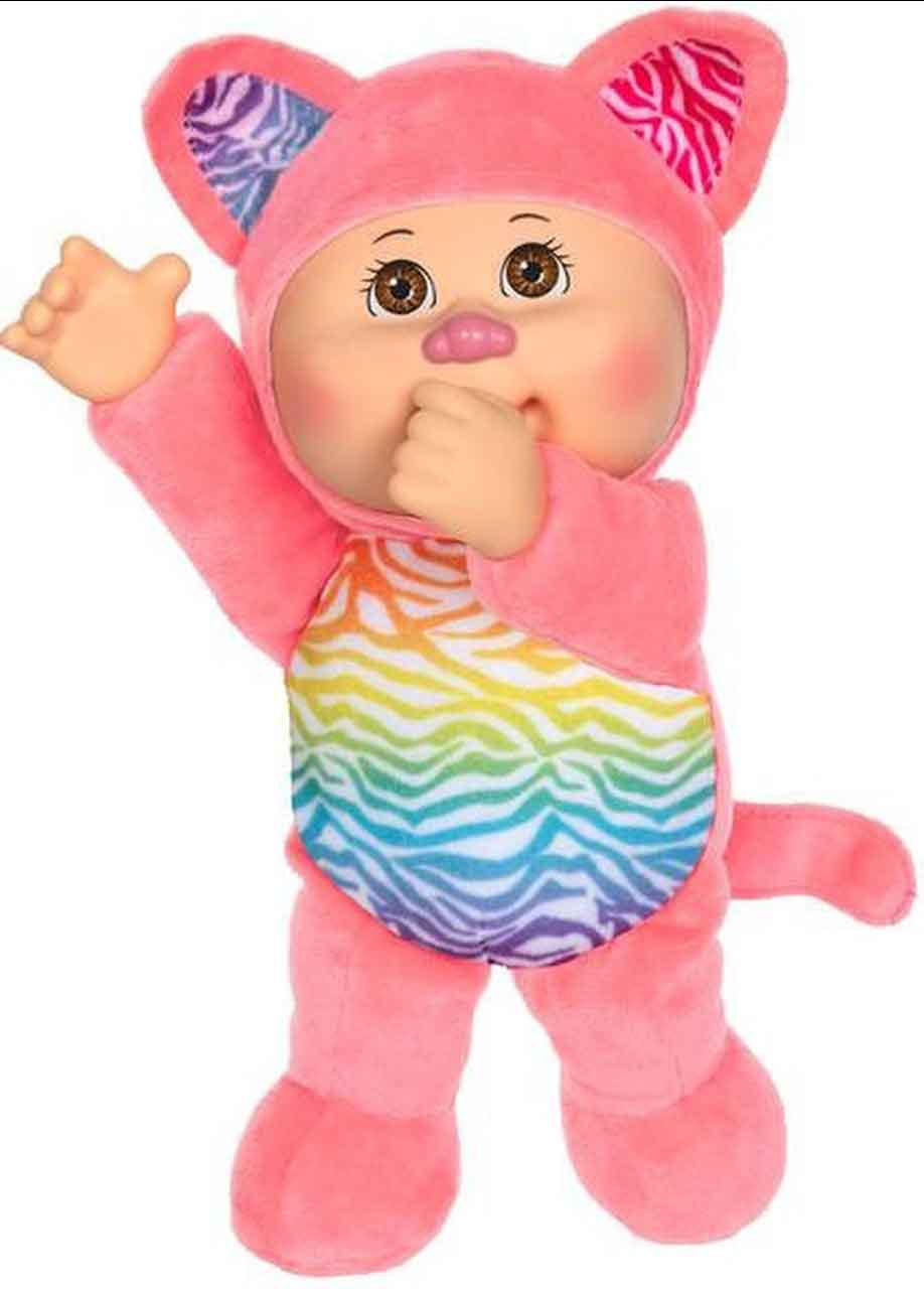Cabbage Patch Kids Rainbow Garden Cala Kitty 9-Inch Plush