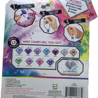 Charm Stone Bracelet Digging Kit - back of package (Series 1)