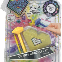 Charm Stone Bracelet Digging Kit - Yellow (Series 1)