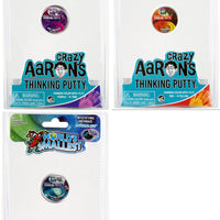 World's Smallest Crazy Aaron's Thinking Putty - Bundle of 3