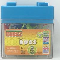 Cubez - Bugs (1 Box)  Includes 18 Bugs and glow in the dark pieces - Stackable cases.  Collect them all!