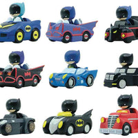 Wheels of Gotham - 1 Vehicle & Figurine (Styles Vary) all 9 types