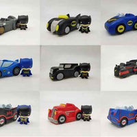 Wheels of Gotham - 1 Vehicle & Figurine (Styles Vary) Full Set