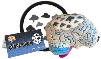 Giant Microbes Plush - Depression