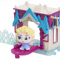 Disney Doorables Mini Playset Elsa's Frozen Castle in action