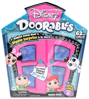Disney Doorable Series 4 - multi peek (5-7 pieces per box)