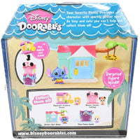 Disney Doorables Mini Playset Stitch's Surf Shack back of package