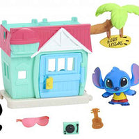 Disney Doorables Mini Playset Stitch's Surf Shack in action