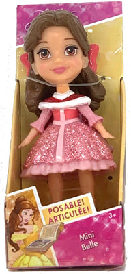 Disney Princess Mini Toddler Doll - Belle (Sparkle dress)