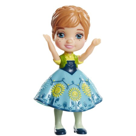 Disney Princess Mini Toddler Doll - Anna (blue dress)