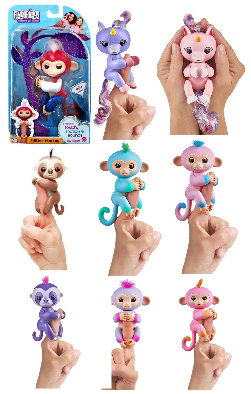 Fingerlings - Bundle of 4 (Random)