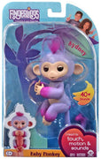 Wow wee Fingerlings Baby Monkey Sydney - featuring trendy two-tone ombre tints
