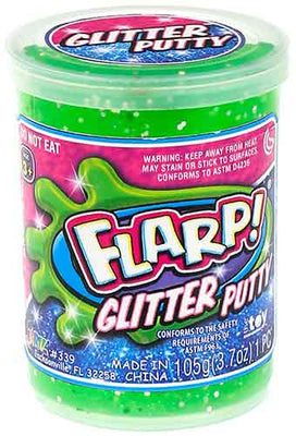 Flarp Glitter Putty green