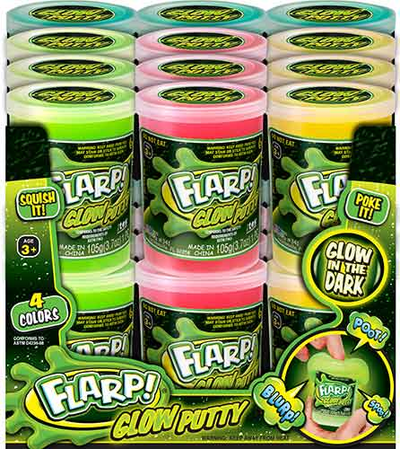 Flarp Glow Putty full case