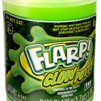 Flarp Glow Putty Green