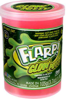 Flarp Glow Putty Red