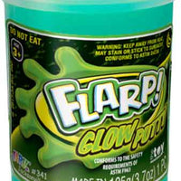 Flarp Glow Putty Blue