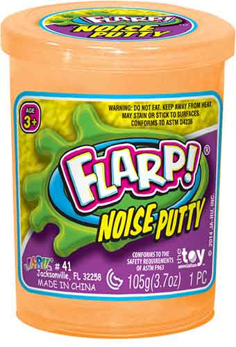 Flarp Noise Putty orange