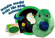 Giant Microbes Plush - Diabetes Beta Cell - Insulin (Β Cells) close up