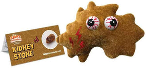 Giant Microbes Plush - Kidney Stone close up