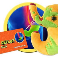 Giant Microbes Plush - Acid Reflux close up