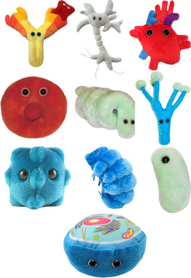 Giant Microbes Dolls - (Random Bundle of 3)