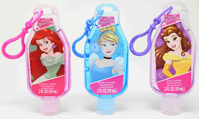 Fruit Scented antibacterial Hand Sanitizer - Disney Princess set of 3