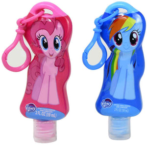 Cotton Candy Scented antibacterial Hand Sanitizer - My Little Pony (Set of 2)
