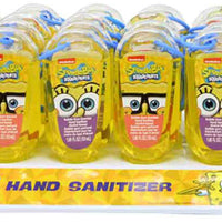 Bubble Gum Scented antibacterial Hand Sanitizer - SpongeBob SquarePants full case of 24