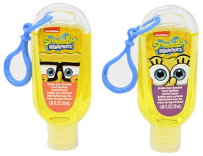 Bubble Gum Scented antibacterial Hand Sanitizer - SpongeBob SquarePants set of 2