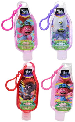 Fruit Scented antibacterial Hand Sanitizer - Trolls bundle of 4