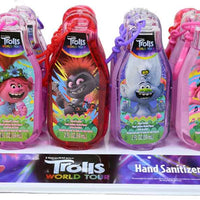Fruit Scented antibacterial Hand Sanitizer - Trolls complete set of 24