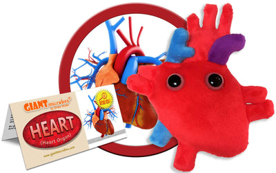 Giant Microbes Plush - Heart Organ
