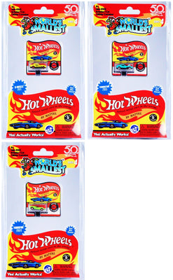 World's Smallest Hot Wheels - Series 4 - (Bundle of 3)