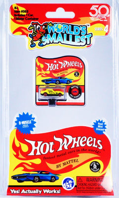 World's Smallest Hot Wheels - Series 4 - D Muscle 2015