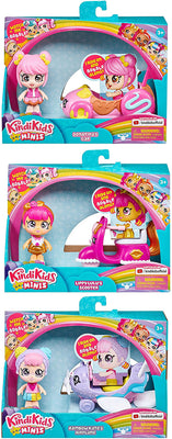Kindi Kids Minis Vehicles (Bundle of 3)Kindi Kids Minis Vehicles (1 Random)