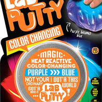 Lab Putty - Color Changing purple turns to blue