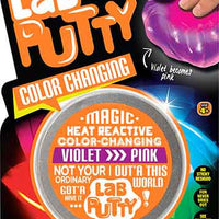 Lab Putty - Color Changing Violet turns to pink