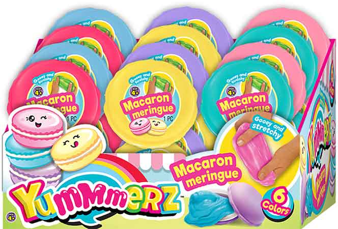 Macaron Meringue Putty Bundle of 8 Random