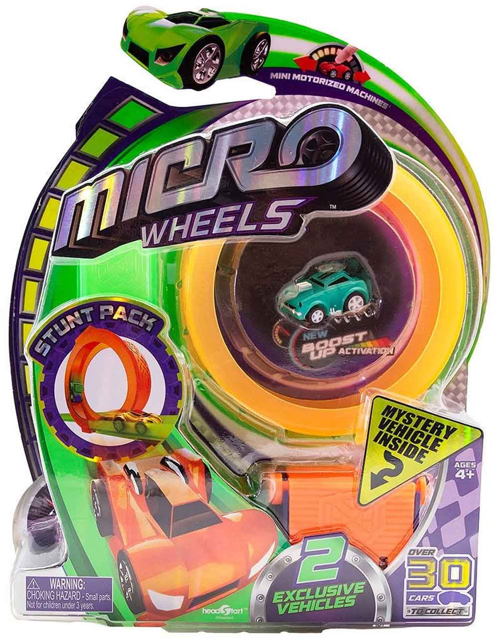 Micro Wheels Stunt Pack (Random Colors) orange track