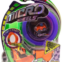 Micro Wheels Stunt Pack (Random Colors) purple track