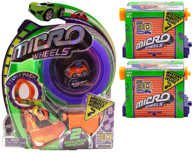 Micro Wheels Stunt Pack (Random Colors)