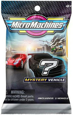 Micro Machines Series 1 Mystery Pack (1 RANDOM Vehicle!)